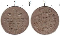 Изображение Монеты Германия Бранденбург 1 марьенгрош 1753 Серебро VF