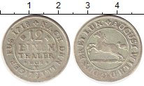 Изображение Монеты Германия Брауншвайг-Люнебург 1/12 талера 1718 Серебро XF