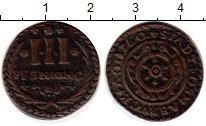 Изображение Монеты Германия Оснабрук 3 пфеннига 1760 Медь VF