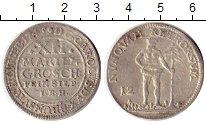Изображение Монеты Германия Брауншвайг-Люнебург 12 марьенгрош 1745 Серебро VF