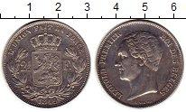 Изображение Монеты Бельгия 2 1/2 франка 1849 Серебро XF