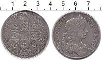 Изображение Монеты Великобритания 1 крона 1677 Серебро XF