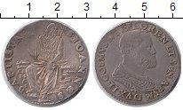 Изображение Монеты Италия Флоренция 1 тестон 1537 Серебро XF