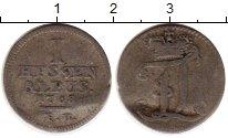 Изображение Монеты Гессен 1 альбус 1708 Серебро VF