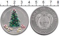 Изображение Монеты Науру 10 долларов 2007 Серебро UNC