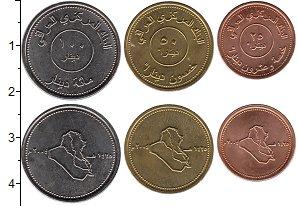Изображение Наборы монет Ирак Ирак 2004 0  UNC- В наборе 3 монеты но