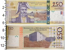 Изображение Банкноты Гаити 250 гурдес 2004  UNC