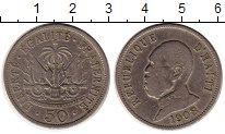 Изображение Монеты Гаити 50 сантим 1908 Медно-никель XF