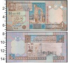 Изображение Банкноты Ливия 1/4 динара 0  UNC
