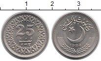 Изображение Монеты Пакистан 25 пайс 1984 Медно-никель UNC-