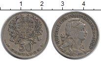 Изображение Монеты Португалия 50 сентаво 1957 Медно-никель XF