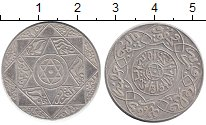 Изображение Монеты Марокко 1/4 реала 1897 Серебро XF