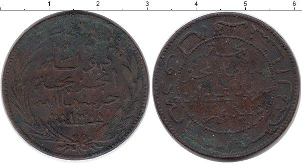 Картинка Монеты Коморские острова 10 сантим Медь 1890