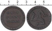 Изображение Монеты Великобритания Остров Мэн 1/2 пенни 1831 Медь XF