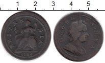 Изображение Монеты Великобритания 1/2 пенни 1724 Медь XF