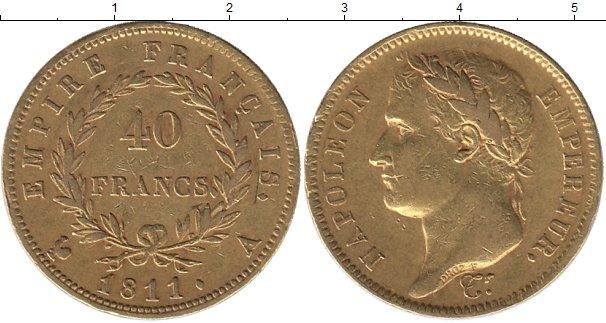 Картинка Монеты Франция 40 франков Золото 1811
