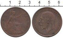 Изображение Монеты Великобритания 1 пенни 1927 Бронза XF