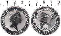 Изображение Монеты Австралия 1 доллар 1993 Серебро Proof