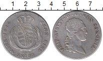 Изображение Монеты Саксония 1 талер 1816 Серебро XF-