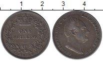 Изображение Монеты Великобритания 1 шиллинг 1834 Серебро XF