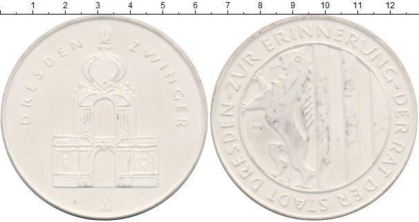 Картинка Монеты ГДР Медаль Фарфор 0