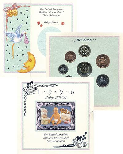 Набор монет Великобритания Выпуск монет 1996 1996 UNC