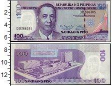 Изображение Банкноты Филиппины 100 писо 2009  UNC