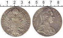 Изображение Монеты Австрия 1 талер 1780 Серебро UNC-