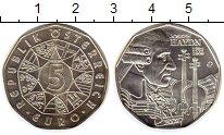 Изображение Монеты Австрия 5 евро 2009 Серебро UNC-