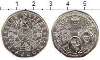 Монета Австрия 5 евро Серебро 2007 UNC- фото