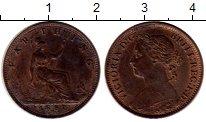 Изображение Монеты Великобритания 1 фартинг 1881 Бронза XF
