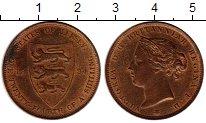 Изображение Монеты Великобритания Остров Джерси 1/24 шиллинга 1894 Бронза XF+