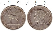 Изображение Монеты Великобритания Родезия 2 шиллинга 1932 Серебро XF