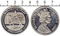 Изображение Монеты Великобритания Гибралтар 5 фунтов 2006 Серебро Proof-