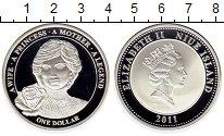 Изображение Монеты Новая Зеландия Ниуэ 1 доллар 2011 Посеребрение Proof