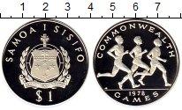 Изображение Монеты Самоа 1 доллар 1978 Серебро Proof
