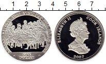 Изображение Монеты Острова Кука 1 доллар 2007 Серебро Proof