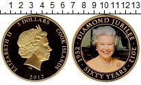 Изображение Монеты Острова Кука 5 долларов 2012 Медно-никель Proof