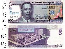 Изображение Банкноты Филиппины 100 писо 2011  UNC