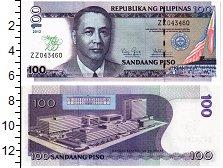 Изображение Банкноты Филиппины 100 писо 2012  UNC