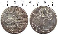 Изображение Монеты Австрия 500 шиллингов 1994 Серебро UNC
