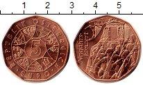 Изображение Монеты Австрия 5 евро 2016 Медь UNC