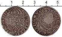 Изображение Монеты Польша 6 грошей 1627 Серебро VF