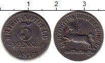 Изображение Монеты Германия Брауншвайг 5 пфеннигов 1918 Железо XF