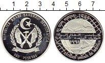 Изображение Монеты Сахара 500 песет 1991 Серебро Proof