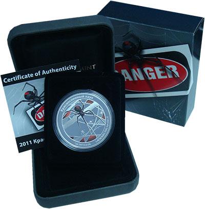 Изображение Подарочные монеты Тувалу 1 доллар 2011 Серебро Proof `Монета из серии ``О
