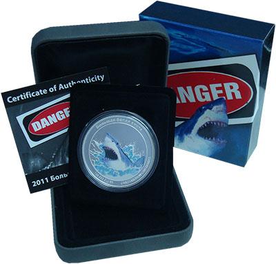 Изображение Подарочные монеты Тувалу 1 доллар 2011 Серебро Proof- `Монета из серии ``О