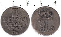 Изображение Монеты Германия Гессен 2 альбуса 1751 Серебро XF-