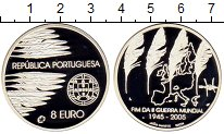Изображение Монеты Португалия 8 евро 2005 Серебро Proof