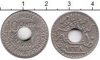 Изображение Монеты Тунис 10 сантим 1920 Медно-никель XF